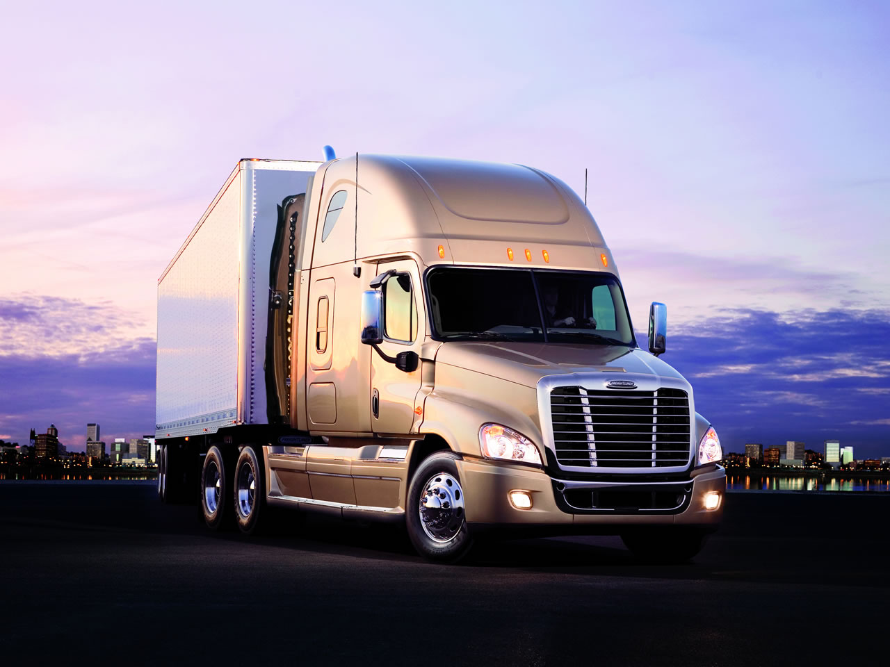 Drivers of commercial trucks must learn how to drive a passenger car