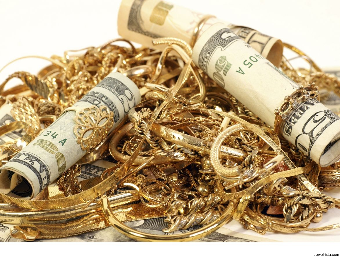 You can get cash for gold jewellery