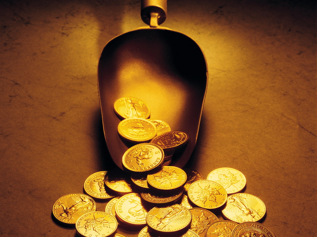 Invest in your future and exchange your cash for gold coins