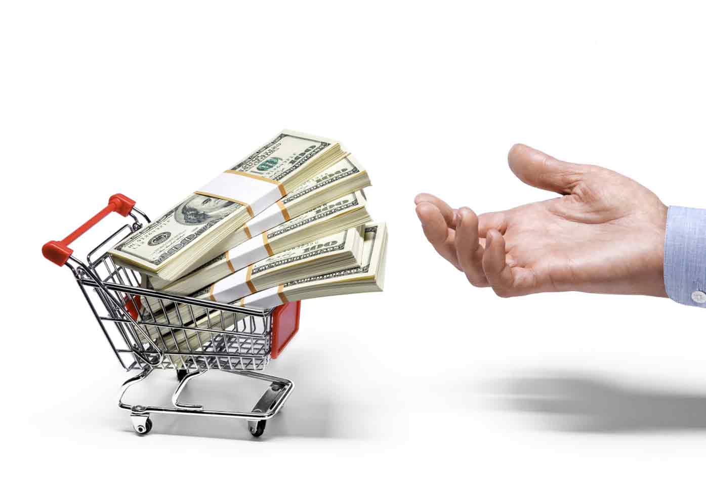 Cash loans only provide a cushion to financial discomfort