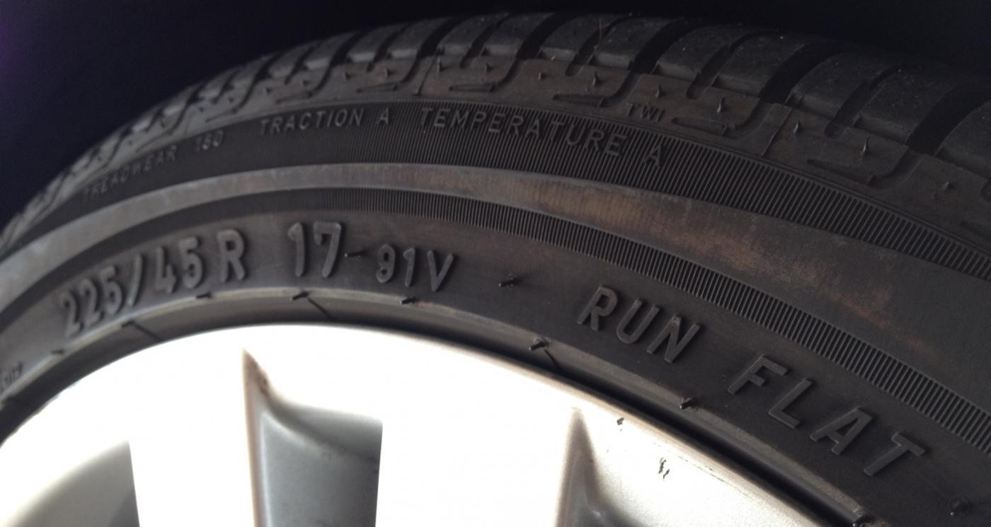 Truck tires should have run flats