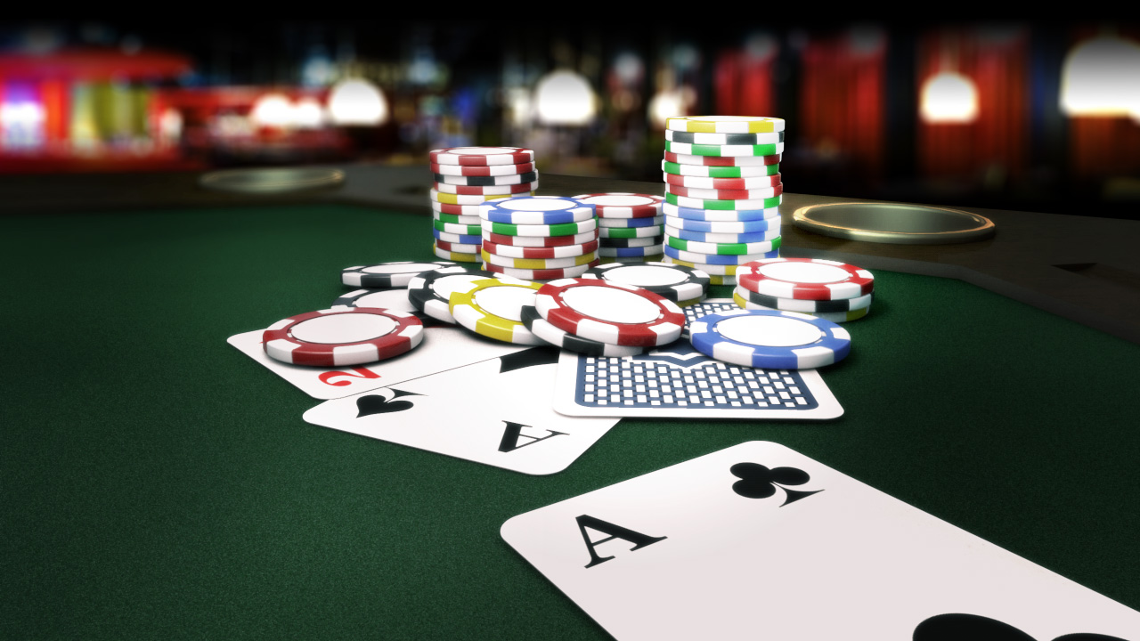 Playing poker online is just as addictive as real life