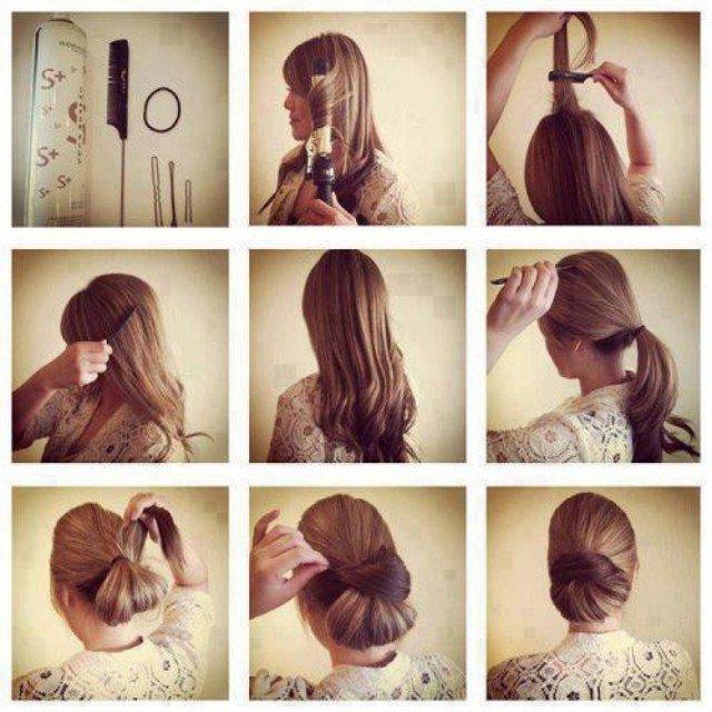 Простые красивые прически на каждый день для длинных волос