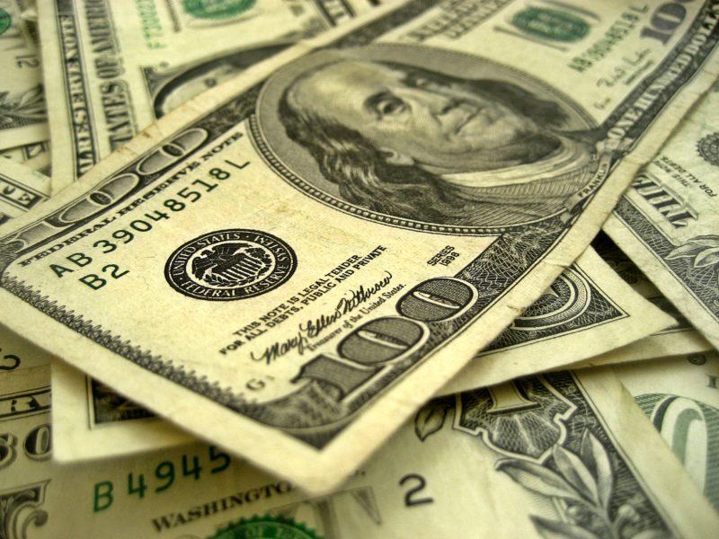 Dollars tips