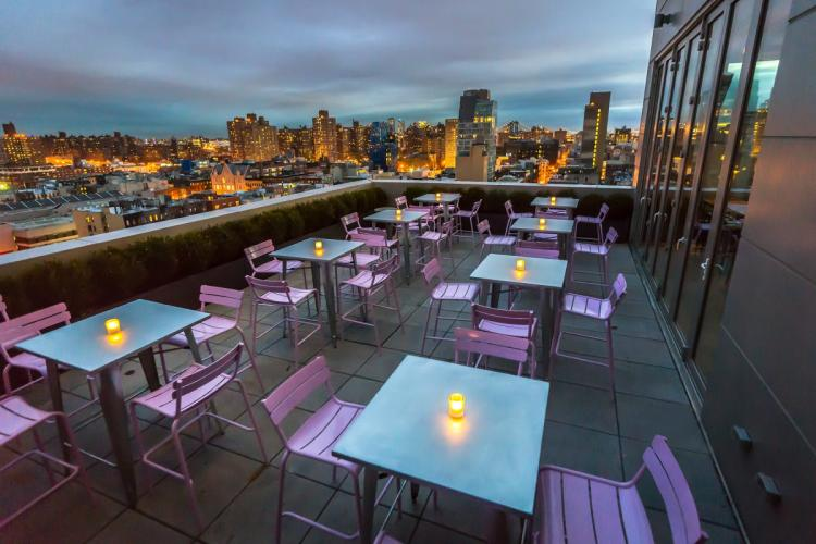 New York terrace restaurants