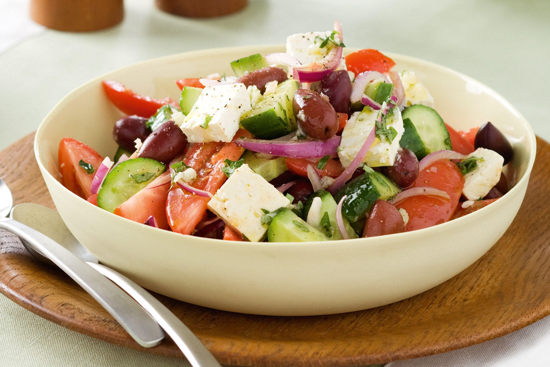 Super easy Greek salad