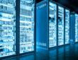 Blue light data room