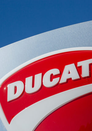 logo of Ducati motorbikes
