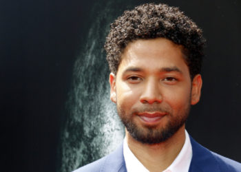 Portrait of actor Jussie Smollett
